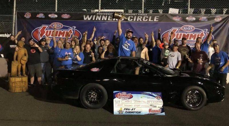chris johnston division 6 race of champions winner