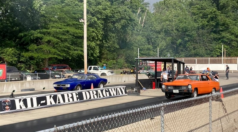 ultimate 64 kil-kare raceway starting line