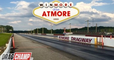 Winmore with Atmore track photo and logo