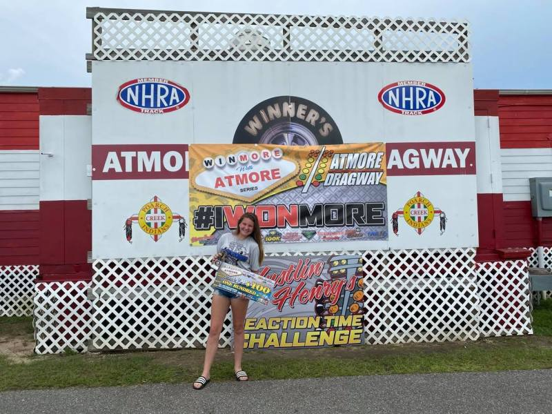 junior dragster gamblers runner up winmore with atmore velicity morris