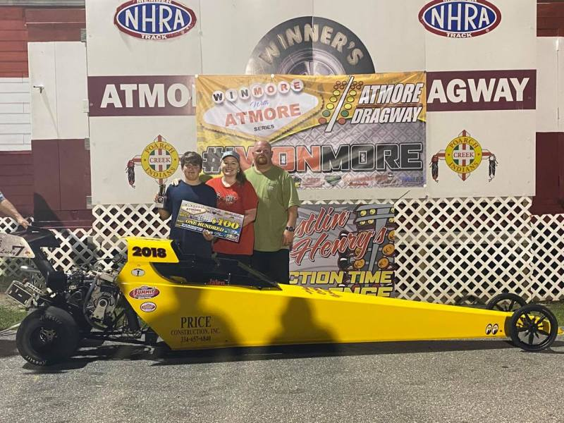 winmore with atmore 10-12 junior dragster runner up jaylen price