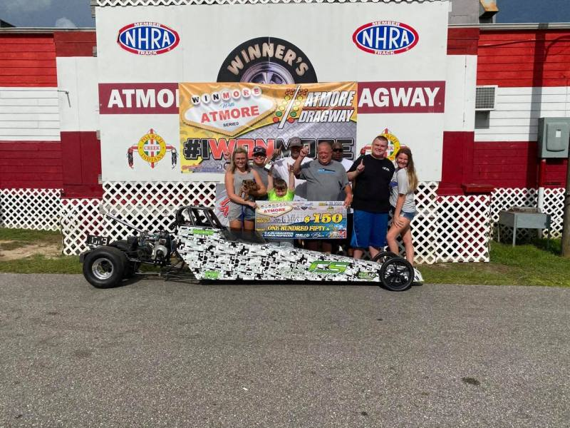 winmore with atmore 6-9 junior dragster winner sam willis