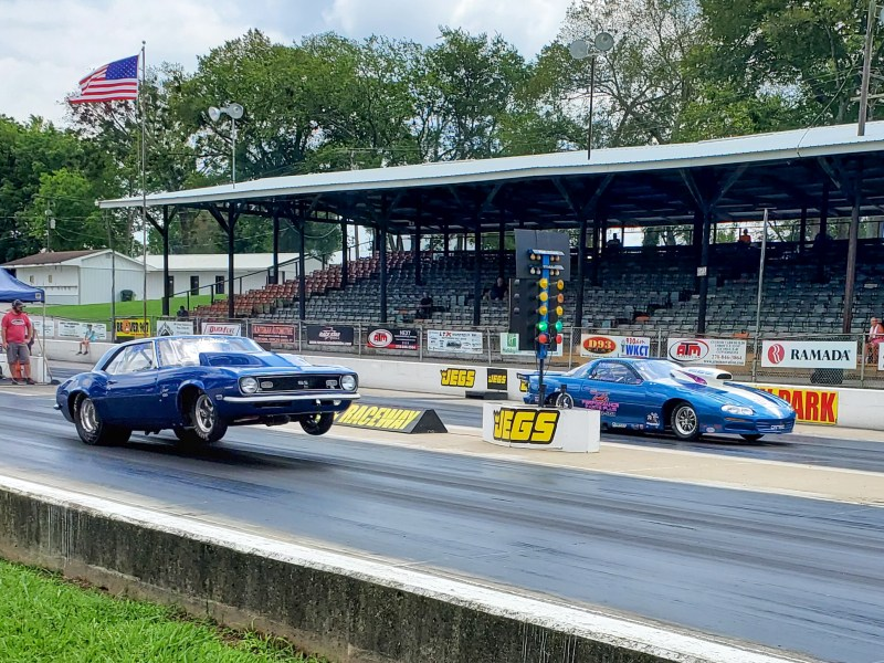 beech bend raceway starting line photo