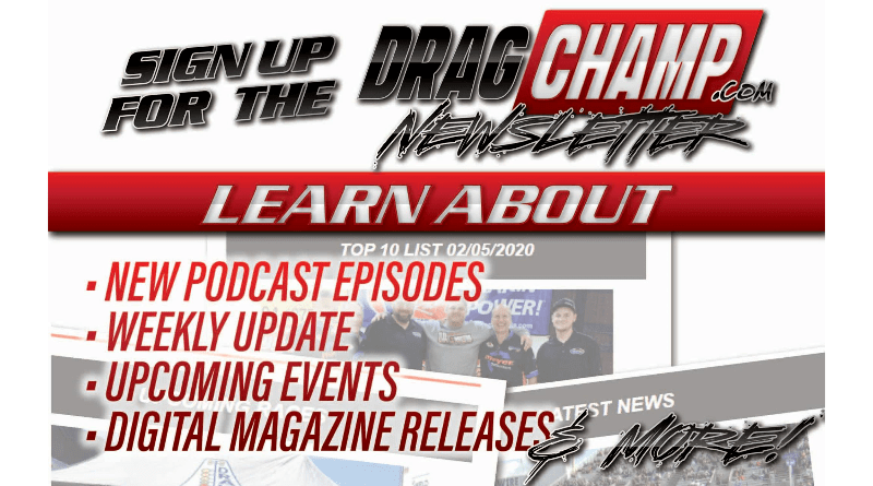 DragChamp Newsletter Subscribe Page Featured Image