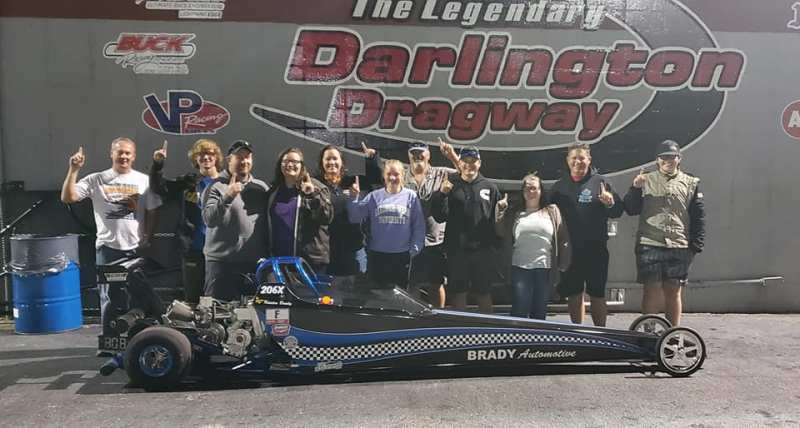 kristen brady junior dragster gamblers winner friday