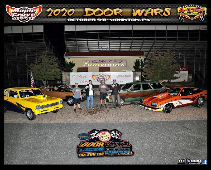 reaction time challenge winners door wars maple grove raceway