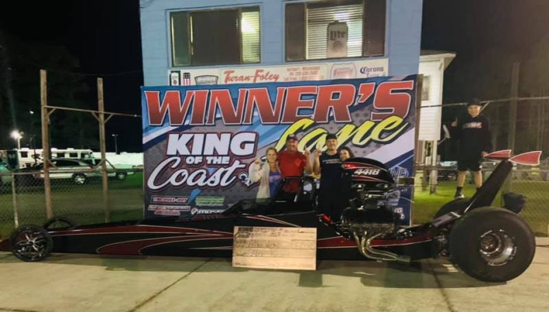 Allen Wickell electronics winner $8k sunday