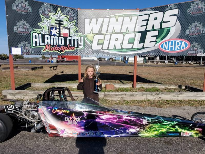 Cheyenne Flowers sunday trophy winner
