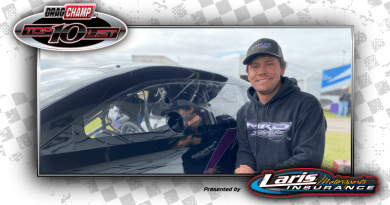 Darian Boesch 2020 Top Dragster Top Sportsman Racer of the Year