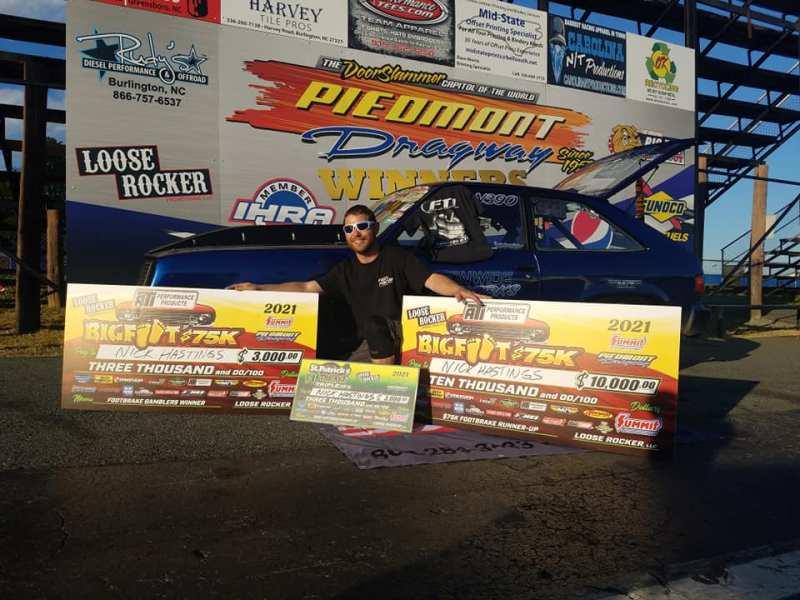 nick hastings gamblers race winner and 75k runner up