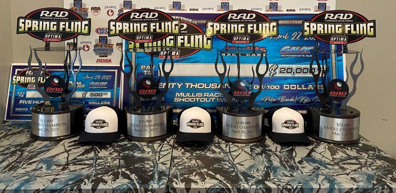 trophies 2021 spring fling galot