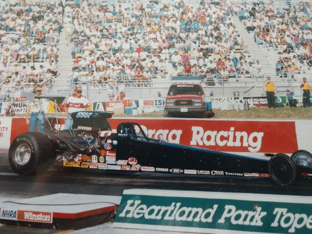 1991 Dragster 91,92,93 D5 SC Champ matt driskell