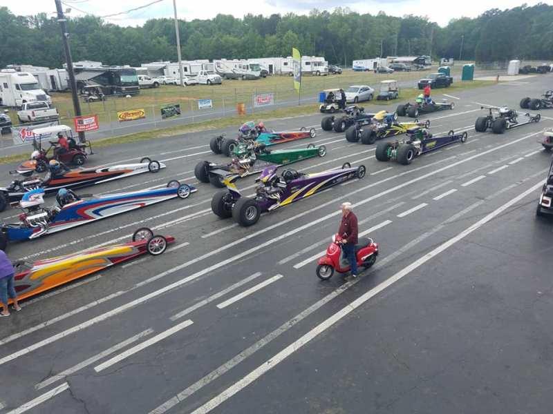 dragsters loose rocker summit super pro $75K challenge