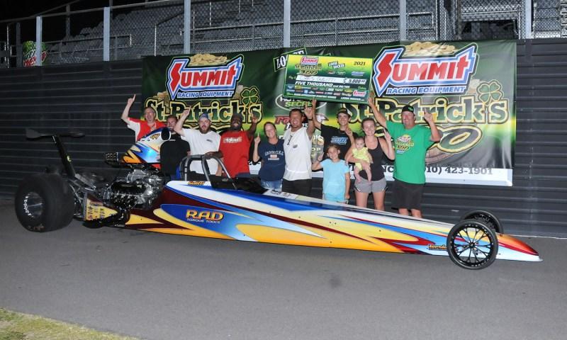 Chris Gulitti thursday racer appreciatiojn 5k winner