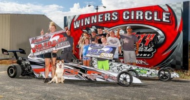 carlee tapley and sam willis capital city racer appreciation feature photo