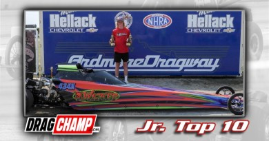 DragChamp Jr Racer Top 10 List with Bode Bennett