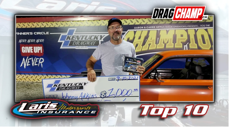 DragChamp Top 10 List with Johnny Adkins