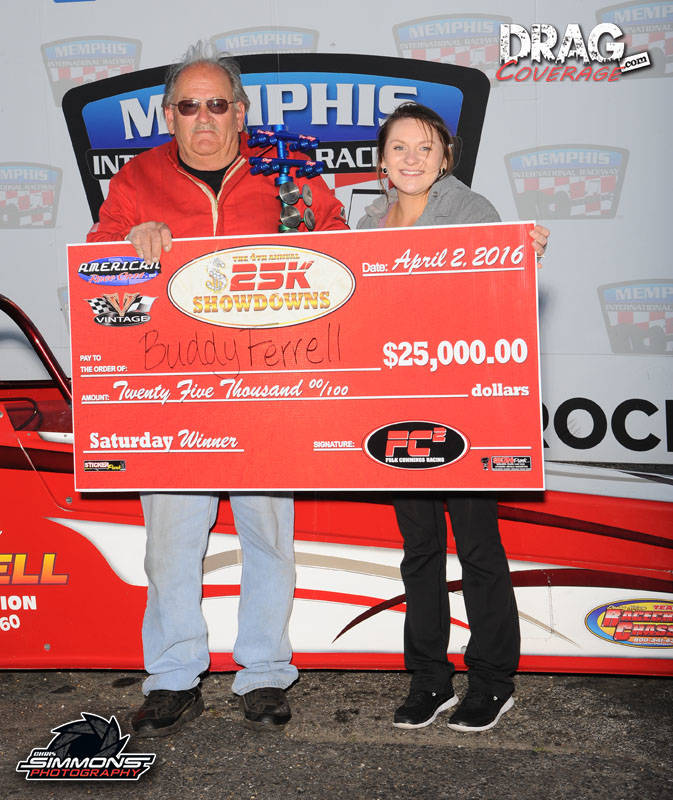 Buddy Ferrell - Saturday $25,000 Winner