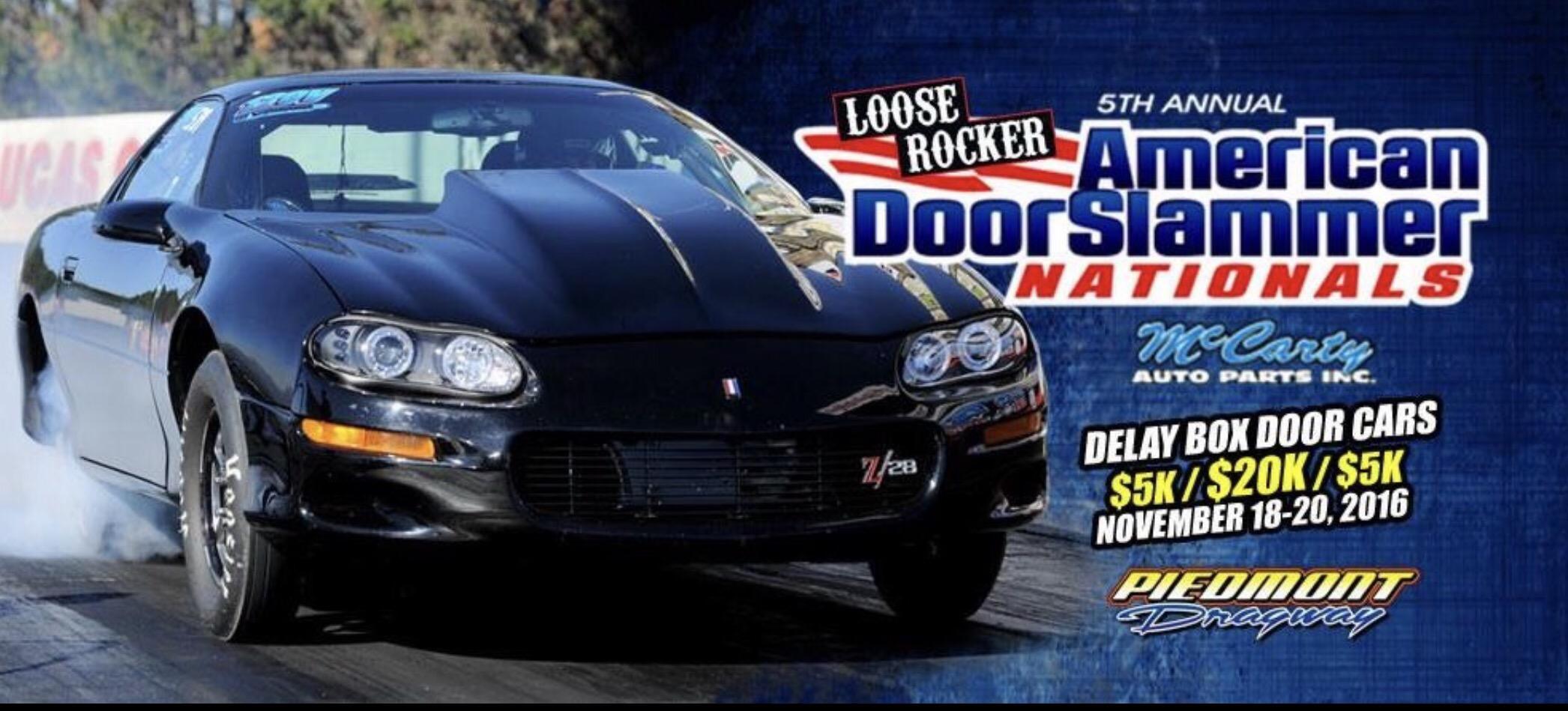 & LIVE FEED: American Door Slammer Nationals at Piedmont Dragway