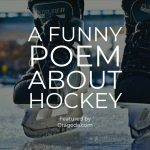 Funny Hockey Poem – You Don't Have to Stink to be Good!