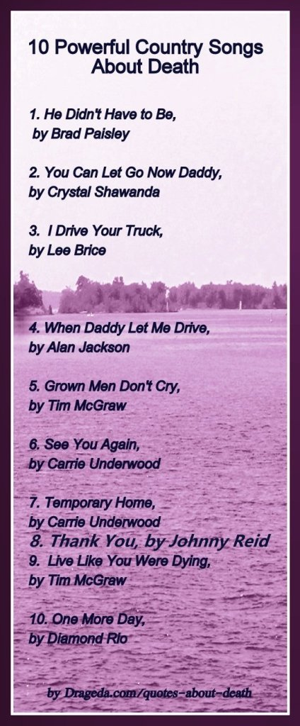 10 country songs about death