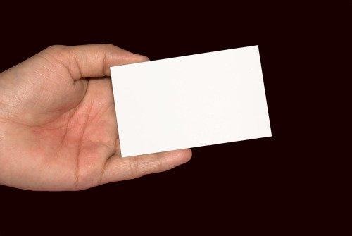 Business Card Sayings