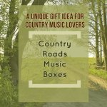 Music Box that Plays Take Me Home Country Roads