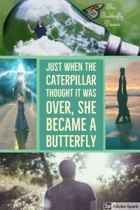 Just when the Caterpillar thought it was over, she became a Butterfly