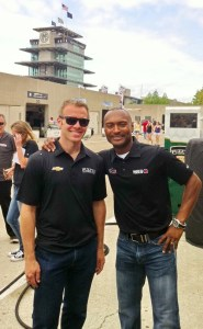 Ed Carpenter and Antron Brown
