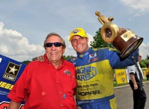 Don Schumacher (left) and Matt Hagan