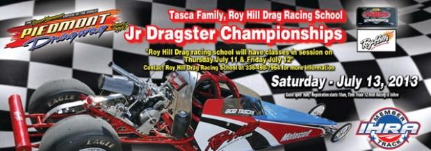 hill teams with tasca for jr dragster championships at piedmont dragway drag illustrated. Black Bedroom Furniture Sets. Home Design Ideas
