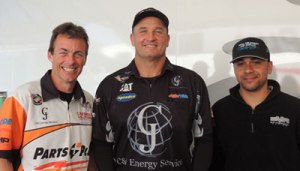 L-R: Clay Millican, Bob Vandergriff Jr. and J.R. Todd