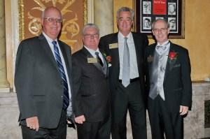 L-R: Graham Light, Steve Chrisman, Tom Compton, Bob Frey