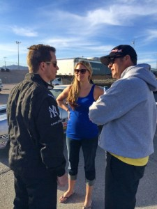 Until Scotty Richardson joined them at the most recent NHRA event at Charlotte, Peter Biondo (left) and Jeg Coughlin Jr. were the only drivers ever to have won in six different classes.