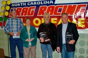 L-R: Gene Lunsford, Joyce Kennedy, Mike Kennedy and Gary DeHart