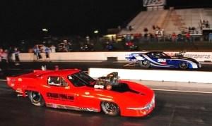 Jason Scruggs (near lane) vs. Brandon Snider