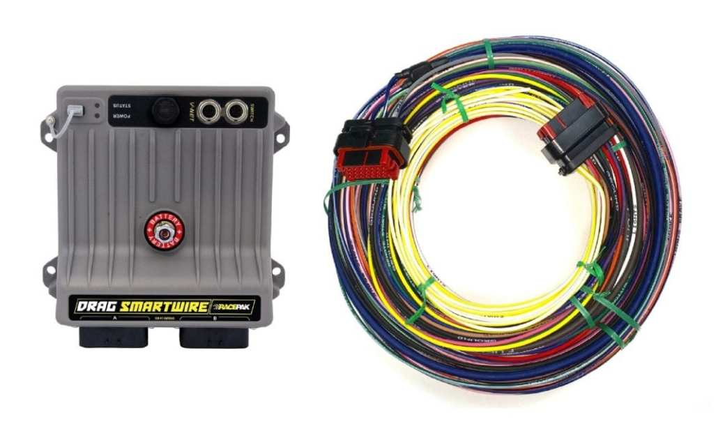 Racepak's Drag SmartWire Simplifies Wiring – Drag ... on