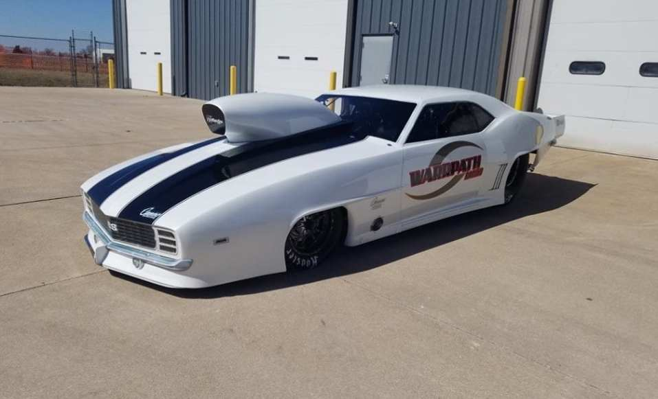 VIDEO: Bryan Warr's New RJ Race Cars '69 Camaro – Drag