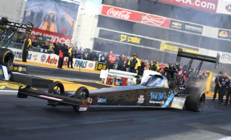 Top Fuel's Scott Palmer Says Sponsor's Race Could Be One For