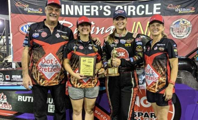 Megan Meyer Locks In Third Straight Lucas Oil Regional Championship