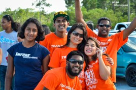 Some of the beautiful faces of Team Orange!