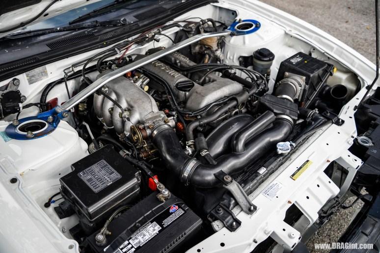 240SX with S14 SR20DE Non Turbo 5 Speed