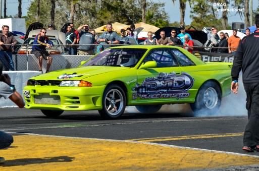 R32 GTR Burnout!