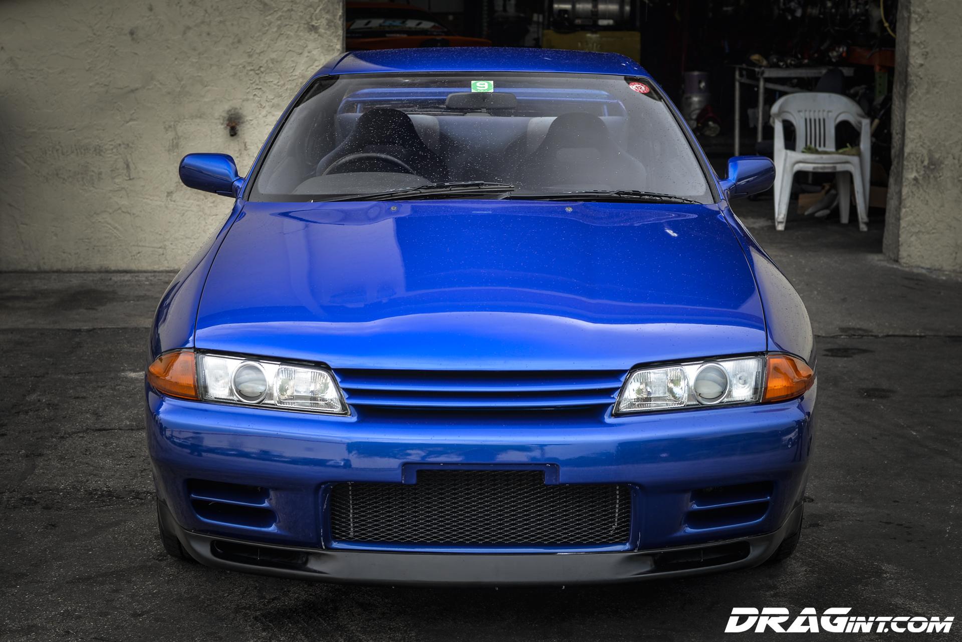 JDM Import R32 Skyline GTR In Best Blue Ever DRAG