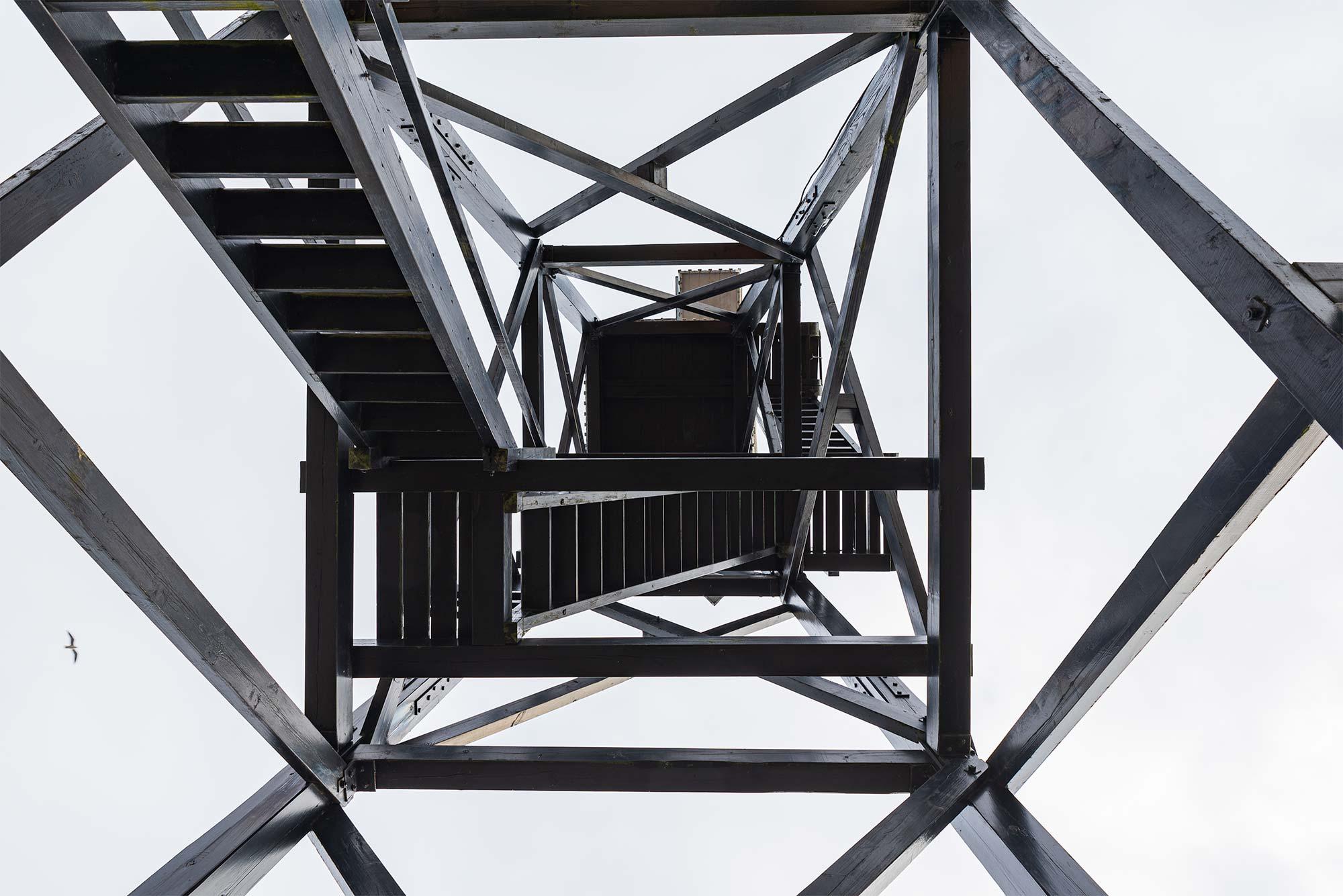 Efter fund af råd og svamp i lodstårnets konstruktion har man søgt om midler til renovering. Arkivfoto: Thomas Mose.