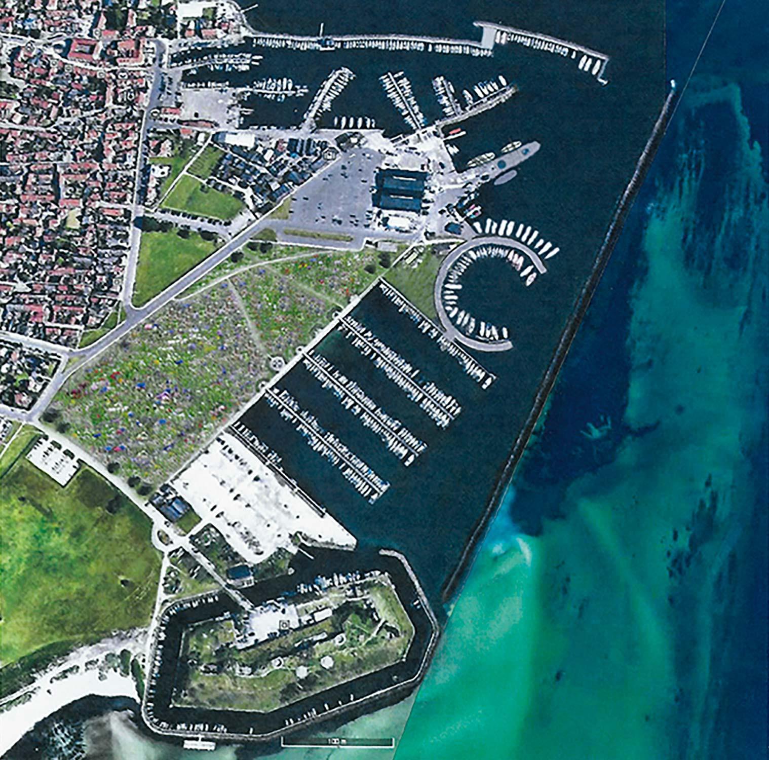 Forslag til »ny« havn.
