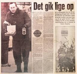 Artikel i BT om Lions indsamling til fastelavnsridningen fra 1965.