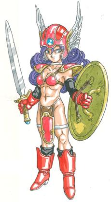 Warrior Dragon Quest Wiki