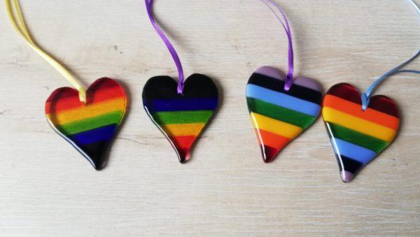 Rainbow hearts combos