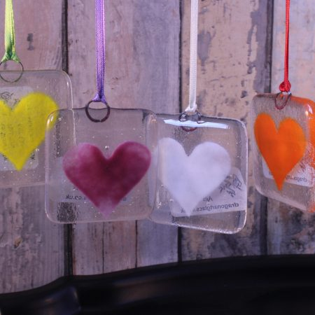 Basic Heart Suncatcher